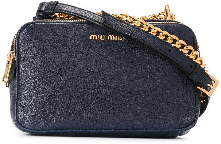 Miu MiuMiu Miu chain detail crossbody bag