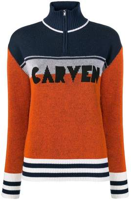 Carven colour block jumper