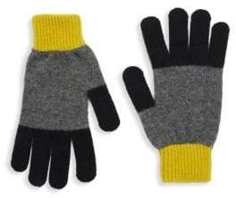 Paul Smith Knit Wool Colorful Gloves