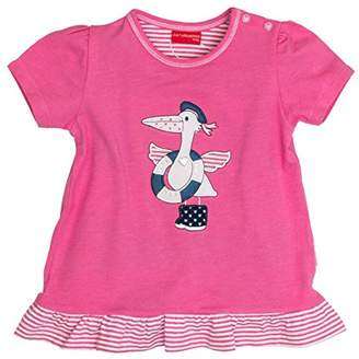 Salt&Pepper Salt & Pepper Salt and Pepper Baby Girls' B Beach Mit Rüschen T-Shirt