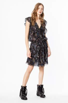 Zadig & Voltaire Rimana Print Paisley dress