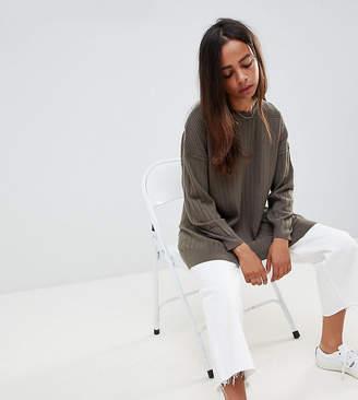 Asos DESIGN Petite oversize sweater in fine knit