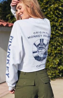 John Galt Malibu Cover Cropped Sweatshirt