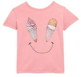 Catimini Toddler's& Little Girl's Ice-Cream Print Tee