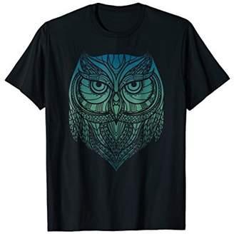 Cute Unique Trendy Modern Aztec Owl T-Shirt & Gift CUAI0058