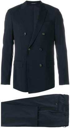 Emporio Armani double-breasted two-piece suit