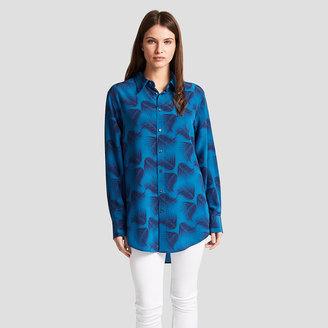 Darcy Palm Print Shirt $225 thestylecure.com