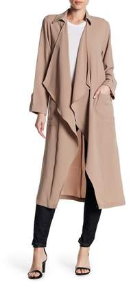 Lush Drapey Open Trench
