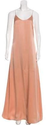 Alice + Olivia Silk Maxi Dress w/ Tags Pink Silk Maxi Dress w/ Tags