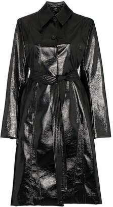 Low Classic Enamel long belted coat
