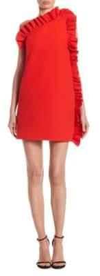 MSGM Side Ruffle Dress