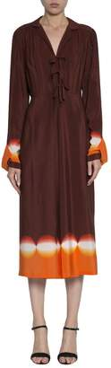 Marco De Vincenzo Silk Dress