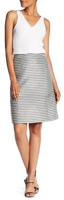 BOSS HUGO BOSS Vispya Stripe Skirt $935 thestylecure.com