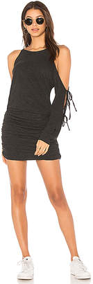 Lanston Tie Sleeve Mini Dress