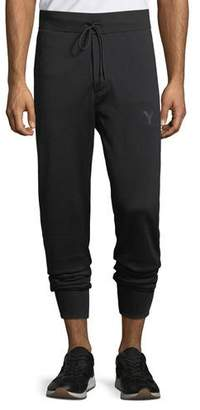Y-3 Men's Classic-Cuff French Terry Track Pants, Black