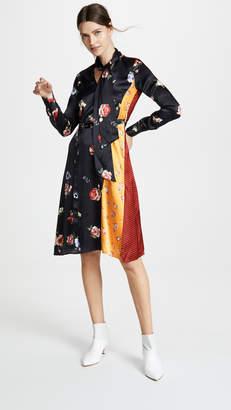 Edition10 Pattern Blocking Dress