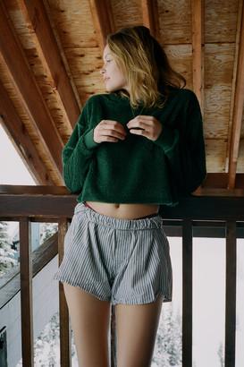 Urban Outfitters Teddy Fleece Hoodie Sweatshirt