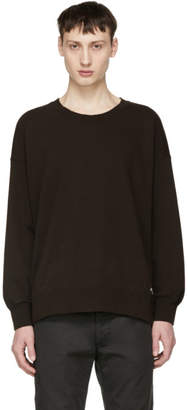 Visvim Black Jumbo Stencil Sweatshirt