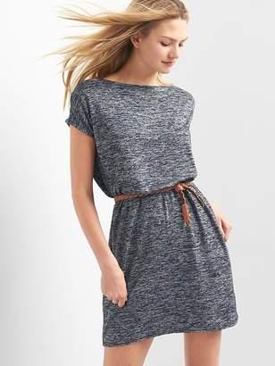 Softspun crossback boatneck dress $59.95 thestylecure.com