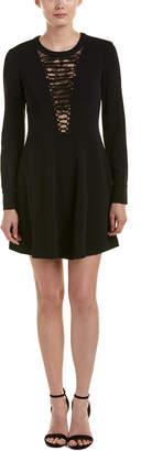 A.L.C. Wares Silk-Trim A-Line Dress