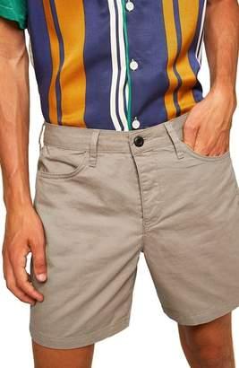Topman Utility Chino Shorts