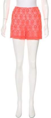A.L.C. Lace High-Rise Shorts