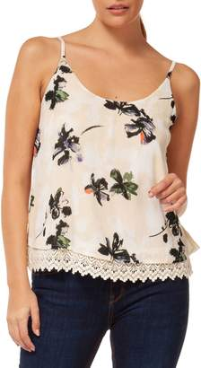 Dex Lace-Trimmed Camisole