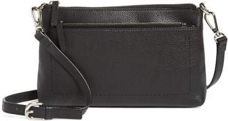 Nordstrom Brixton Convertible Leather Crossbody Bag with Pop-Out Card Holder