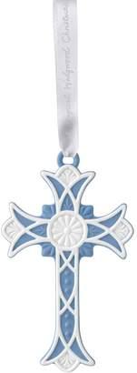 Wedgwood Cross Ornament