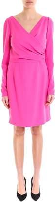 Dolce & Gabbana Draped Wrap Dress