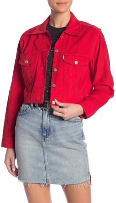 Levi's Cropped Trucker Vintage Jacket