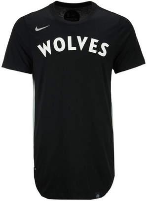 Nike Men's Minnesota Timberwolves Alternate Hem Short Sleeve T-Shirt
