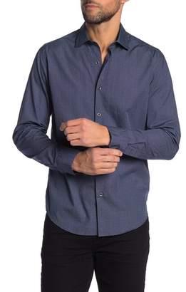Robert Barakett Philips Long Sleeve Button Front Shirt