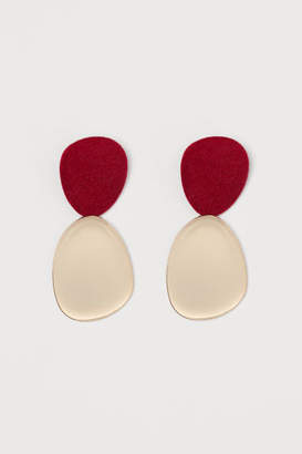 H&M Large Earrings - Red