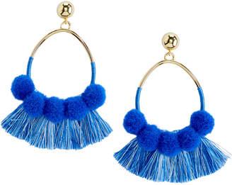 Vineyard Vines Pom Pom & Tassel Earrings