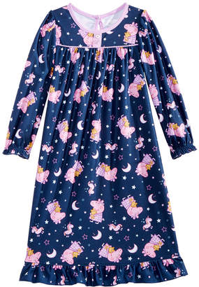 Peppa Pig Toddler Girls Printed Nightgown