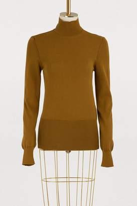 Jacquemus Baya cotton turtleneck sweater