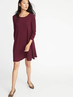 5031d40796c Old Navy Plush-Knit Swing Dress for Women