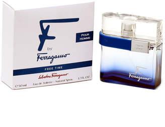 Salvatore Ferragamo F By Men's Free Time 1.7Oz Eau De Toilette Spray