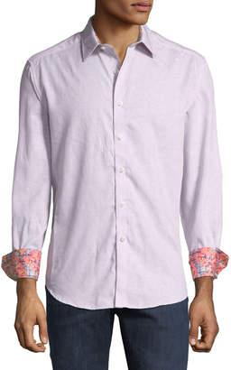 Robert Graham Garden Lake Cotton Woven Sport Shirt
