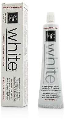 Apivita NEW Whitening Toothpaste With Mastic & Propolis 75ml Womens Skin Care