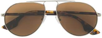 McQ Eyewear tortoiseshell aviator sunglasses