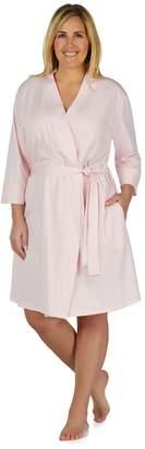Jockey Plus Size Modern Wrap Robe