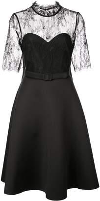 Badgley Mischka lace cocktail dress