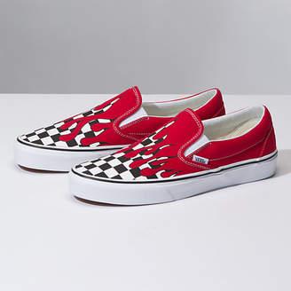 f1a3f2e2c2f5 Vans Checkered Slip Ons