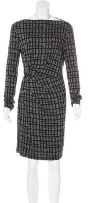 Tomas Maier Jersey Mini Dress