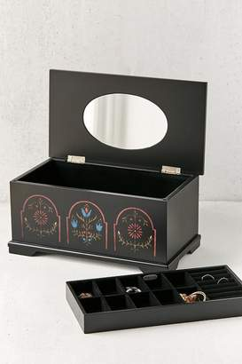 Mele Marley Dutch Motif Wooden Jewelry Box