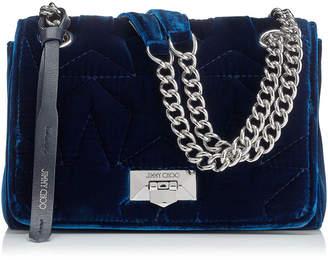 4d1c65ffdaf Jimmy Choo HELIA SHOULDER BAG/S Bordeaux Velvet Shoulder Bag with Chain  Strap