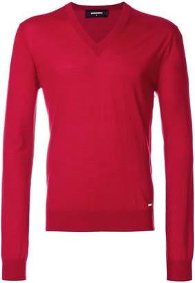 DSQUARED2 V-neck jumper