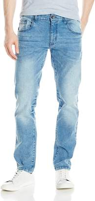 WT02 Men's Clean Washed Stretch Denim Pants